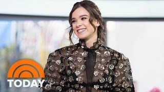 Download Hailee Steinfeld Talks Improvising With Woody Harrelson In 'Edge Of Seventeen' | TODAY Video