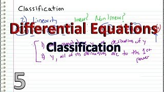 Download Differential Equations - 5 - Classification Video