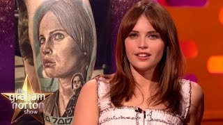 Download Felicity Jones is Worried About Fan Tattoos - The Graham Norton Show Video
