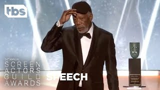 Download Morgan Freeman: Life Achievement Award | 24th Annual SAG Awards | TBS Video
