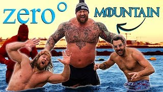 Download The Mountain FREEZES US TO THE BONE IN OCEAN *painful* Video