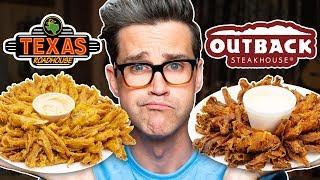 Download Texas Roadhouse vs. Outback Steakhouse Taste Test | FOOD FEUDS Video