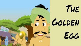 Download The Golden Egg - Aesop's Fables In Malayalam - Animated/Cartoon Tales For Kids Video
