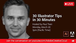 Download 30 Illustrator Tips in 30 Minutes | #Ai30th Video