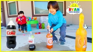 Download Top 10 Science Experiments you can do at home for kids with Ryan ToysReview! Video