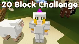Download Minecraft PS4 - 20 Block Challenge - Thinking Food (12) Video