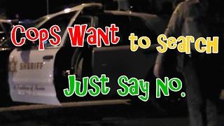 Download Girl Laughs At Deputy Intimidation Tactics Video