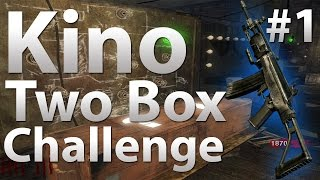 Download Black Ops Zombies - Kino Der Toten: 2 Box Challenge (Part 1) Video