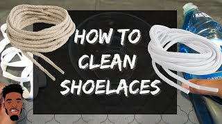 Download How to clean shoelaces ! Quick & Easy Way ! Video