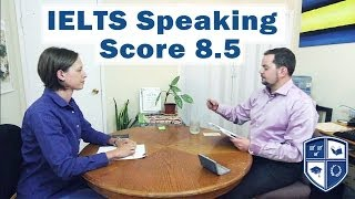 Download IELTS Speaking Score 8.5 with Native English Speaker subtitles Video