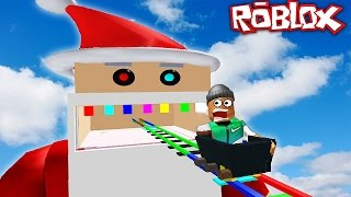 Download ESCAPING SANTA IN ROBLOX Video