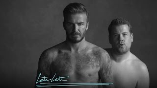 Download David Beckham and James Corden's New Underwear Line Video