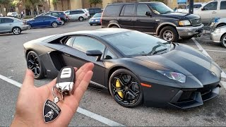 Download my dad bought me a lambo for my first car.. Video