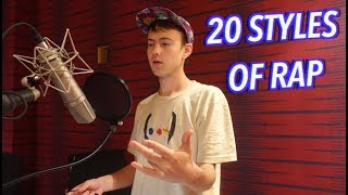 Download 20 Styles of Rapping! (LOGIC, XXXTENTACION, 6IX9INE & MORE) Video