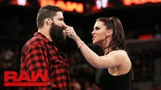 Download Stephanie McMahon fires Mick Foley: Raw, March 20, 2017 Video
