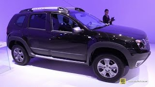 Download 2015 Dacia Duster - Exterior and Interior Walkaround - 2014 Paris Auto Show Video
