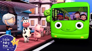 Download Wheels On The Bus | Part 3 | Nursery Rhymes | from LittleBabyBum! Video