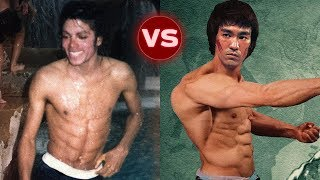 Download Michael Jackson vs Bruce Lee Transformation || Who is better? Video