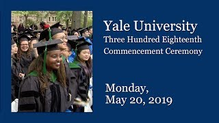 Download Yale University 318th Commencement Ceremony Video