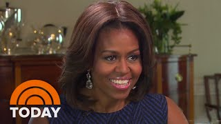 Download Michelle Obama's Modern Redesign Of The White House | TODAY Video