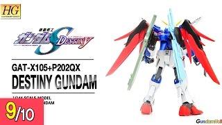Download [REVIEW] HG 1/144 데스티니 건담 - Destiny Gundam Video