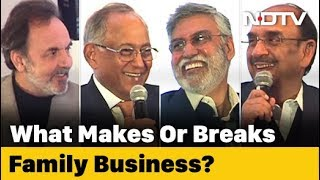 Download Prannoy Roy Speaks To Bosses Of India Inc On Family Businesses Video