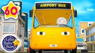 Download Party on The Bus   Wheels on The Bus V17 + More Nursery Rhymes & Kids Songs   Little Baby Bum Video