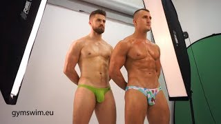 Download GymSwim push-up men swimwear collection photoshoot (part 2) Video