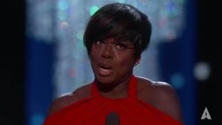 Download Viola Davis wins Best Supporting Actress Video