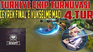 Download Türkiye Ekip Turnuvası 4.TUR - Script vs Big Mabeyn ( Çeyrek Finale Yükselme Maçı ) - Mobile Legends Video