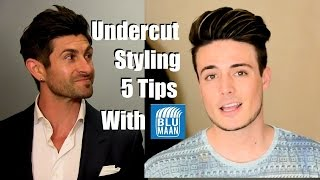 Download Undercut Hairstyle Tutorial | 5 Styling Tips For Medium Length Hair Video