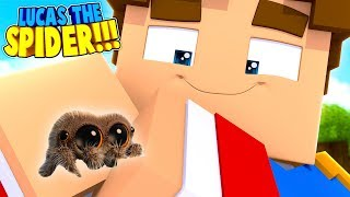 Download Minecraft LITTLE DONNY CAPTURED LUCAS THE SPIDER & KEPT HIM AS A PET!! (Minecraft Roleplay) Video