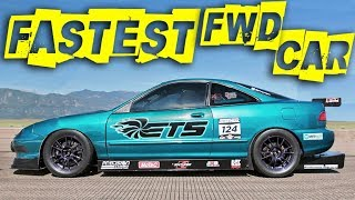 Download First 200MPH in a Turbo Acura INTEGRA! Video