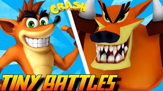 Download Evolution of Tiny Tiger Battles in Crash Bandicoot Games (1996-2016) Video