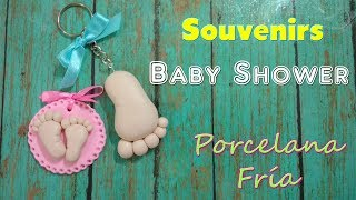 Download Tutorial DISTINTIVOS Y RECUERDOS BABY SHOWER Porcelana Fria /IDEAS SOUVENIRS para Nacimiento Video