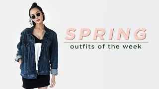 Download Spring Outfits of the Week Monday to Friday | Chriselle Lim Video