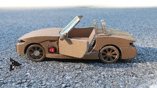 Download How to make RC Car(BMW Z4) - Amazing Cardboard DIY Video
