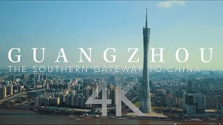 Download Guangzhou: The Southern Gateway to China 4K Aerial Photography, China 航拍 Video