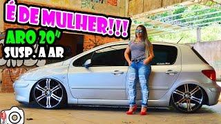 Download É de Mulher!!! Peugeot 307 aro 20″ Suspensão a Ar - Estúdio Wcar Video
