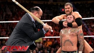 Download CM Punk vs. Curtis Axel - WWE App Vote Match: Raw, August 26, 2013 Video