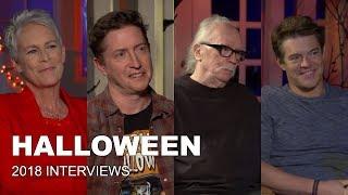 Download HALLOWEEN Interviews with Jamie Lee Curtis, John Carpenter, Jason Blum & David Gordon Green Video
