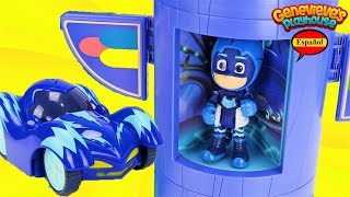 Download Video Educativo para Niños! Juguetes PJ Masks Coches! Video