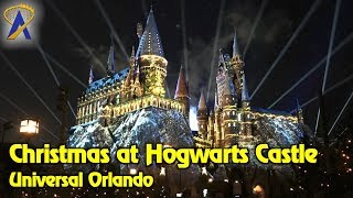 Download 4K ″The Magic of Christmas at Hogwarts Castle″ projection show at Universal Orlando Video