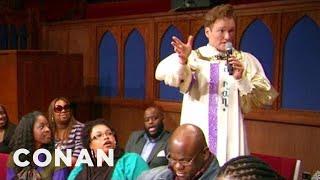 Download Conan Joins A Southern Baptist Choir - CONAN on TBS Video