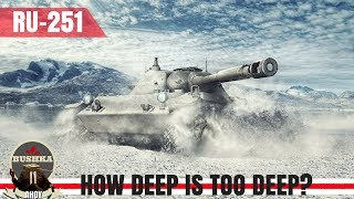 Download Wot Blitz Ru-251 How Deep is Too Deep Video