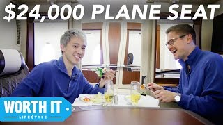 Download $139 Plane Seat Vs. $24,000 Plane Seat Video