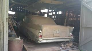Download Barnyard find 1957 Chevy Video