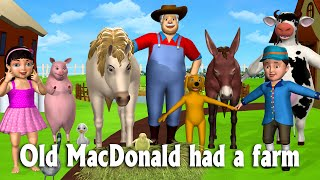 Download Old MacDonald Had A Farm - 3D Animation Animals Songs & Nursery Rhymes for Children Video