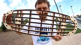 Download INCREDIBLE LASER CUT SKATEBOARD! | YOU MAKE IT WE SKATE IT EP 51 Video