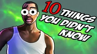 Download 10 Things You Didn't Know About GTA San Andreas Video